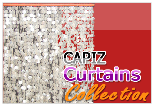 Natural and Colored Capiz Curtain from the philippine